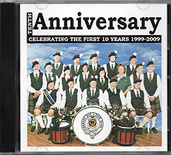 Hervey Bay RSL Pipe Bankd Anniversary CD